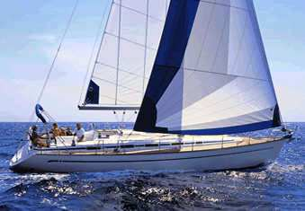 Bavaria 44 sailing yacht