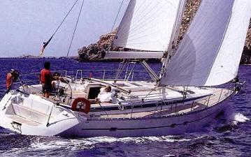 Bavaria 47 sailing yacht