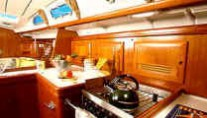 beneteau 473 galley