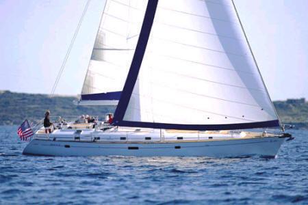 Beneteau 50 sailing yacht