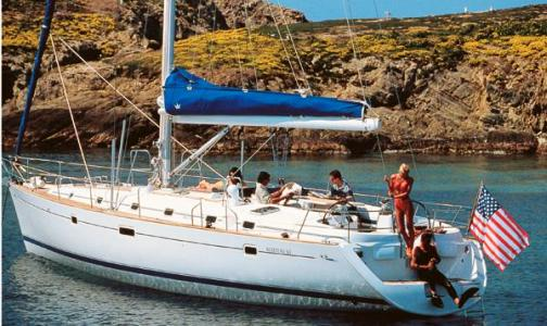 This Beneteau 50 (2000-2001) sail boat charter yacht is based in Tortola in ...