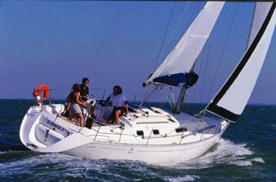 Dufour 36 sailboat
