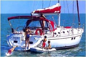 GibSea 51 sailing yacht