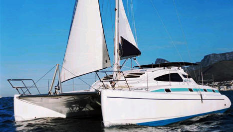 Island Spirit 40 sailing catamaran