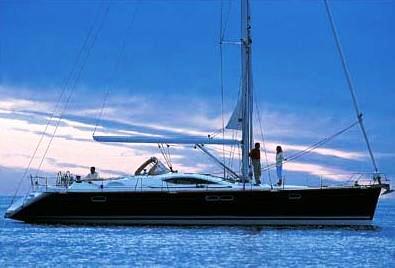 Jeanneau 54 DS sail boat