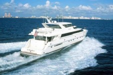 Luxury yacht 'La Marchesa'