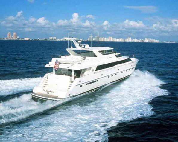 Luxury yacht 'La Marchesa'