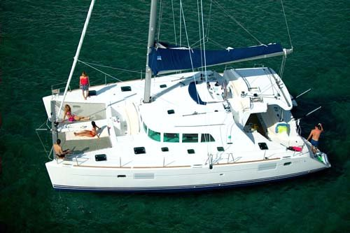 Lagoon 440 Catamaran. You will discover on your crewed yacht charter that ...