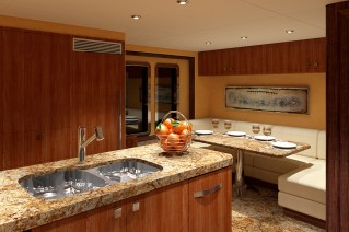 luxury-yacht-Ocean-Alexander-120-Galley