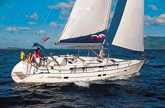 Beneteau 411 sailboat