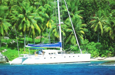 Marquises 56 sail catamaran