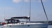 Hunter 46 sailing charter yacht
