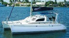 Leopard 3800 sailing catamaran