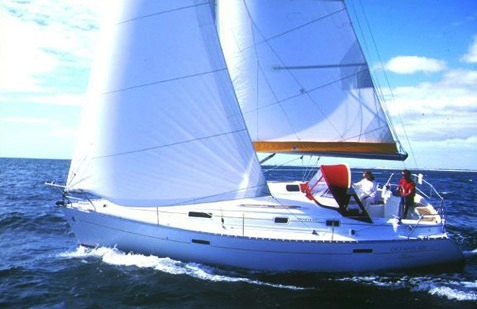 Oceanis 331 sailboat