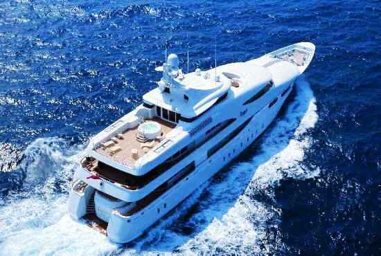 Luxury yacht Capri