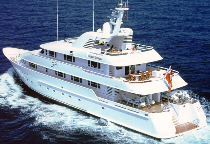 Luxury Yacht Solaia