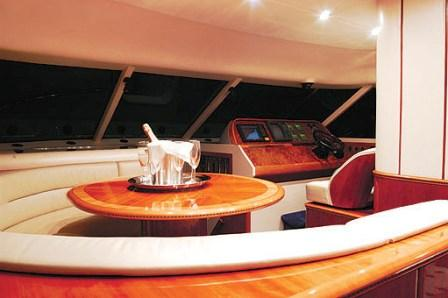 Princess 20 charter boat - French crewed motor yacht