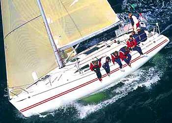 SunFast 37 Sail Boat