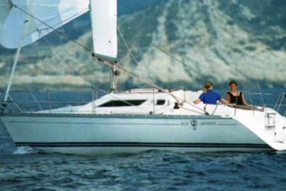 Sunlight 30 charter boat