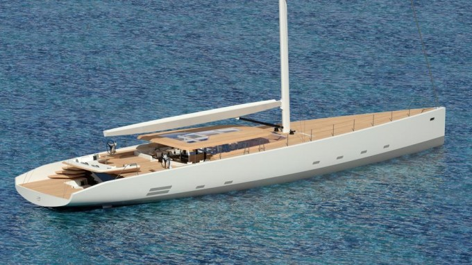 Sailing Yacht Wally 145