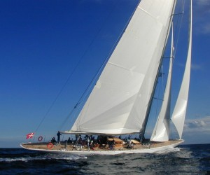 The j-class yacht ranger