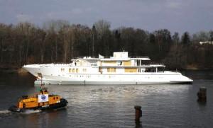 Nobiskrug launches 74 m superyacht Mogambo