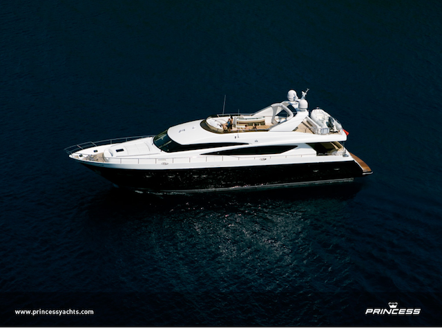 95 Motor Yacht by Princess Yachts