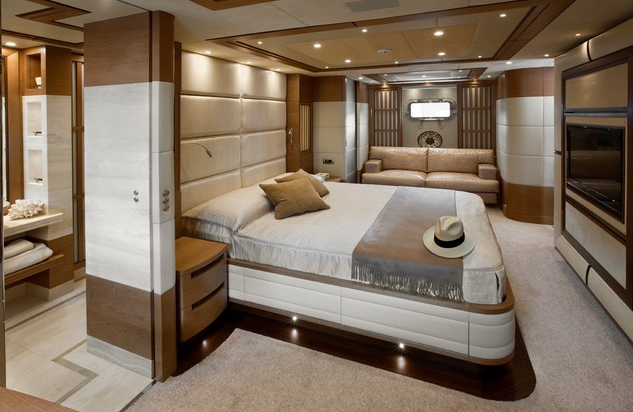 Interior Design Of The Sanlorenzo Superyacht Lady Jane Yacht Charter Superyacht News