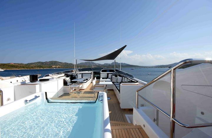 Sports yachts can be ideal for moving ...