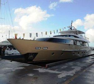 Sanlorenzo launches SD92 motor yacht Lady Jane