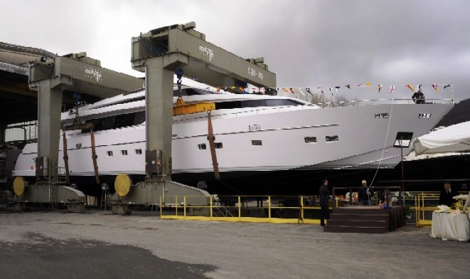 Sanlorenzo, have launched their 13th SL108 called motor yacht DANDY SIX.