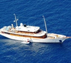 Classic motor yacht VAJOLIROJA available for charter.