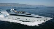 An Admiral 35 motor yacht like Tamara RD