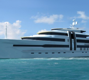 Ken Freivokh Designed Motor Yacht Z to be launched in 2010 by Marco Yachts Chile