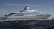 120m+ Exploration Yacht by Blohm + Voss