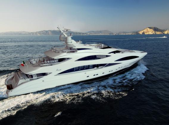 The newest Benetti the Imagination yacht is hull FB 501.