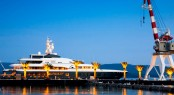 Berthing at Porto Montenegro can be alongside or stern to