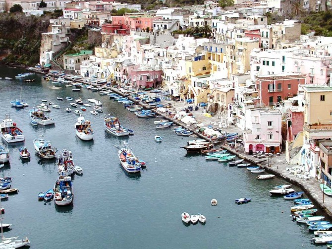 Gulf of Naples, Procida, Italy