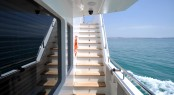 Exterior Staircase - Motoryacht Ceylan