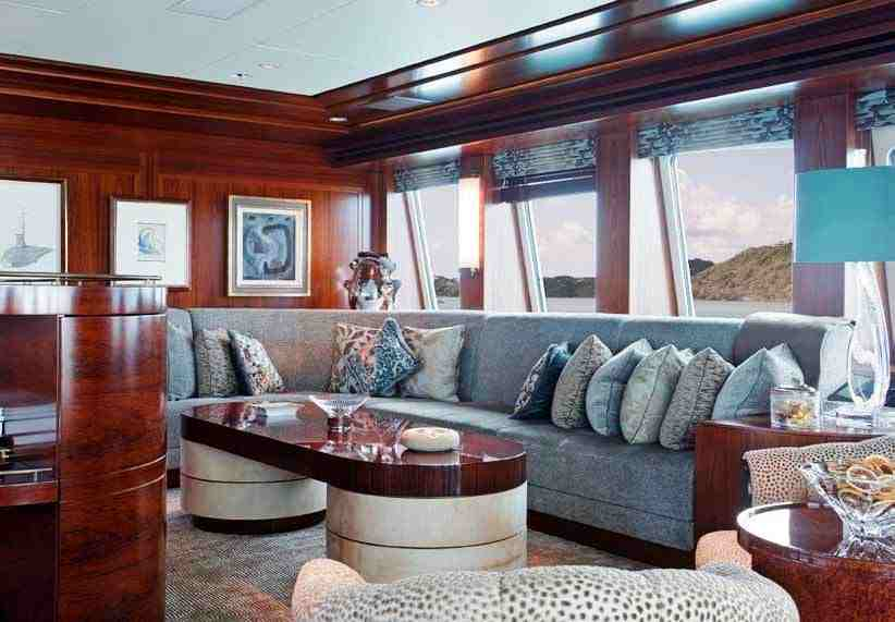 Motor Yacht Blind Date Interior Design By Keech Green