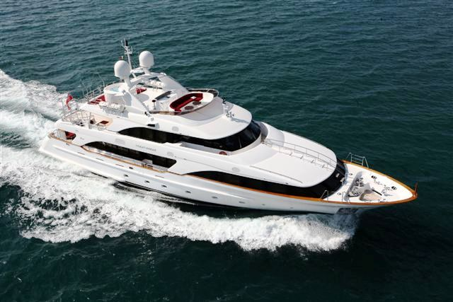 The Benetti Classic 120 yacht has now been delivered and is set for a summer ...