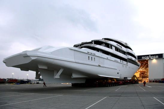 Y706 Motor Yacht yet to be lauched by Oceanco in 2010
