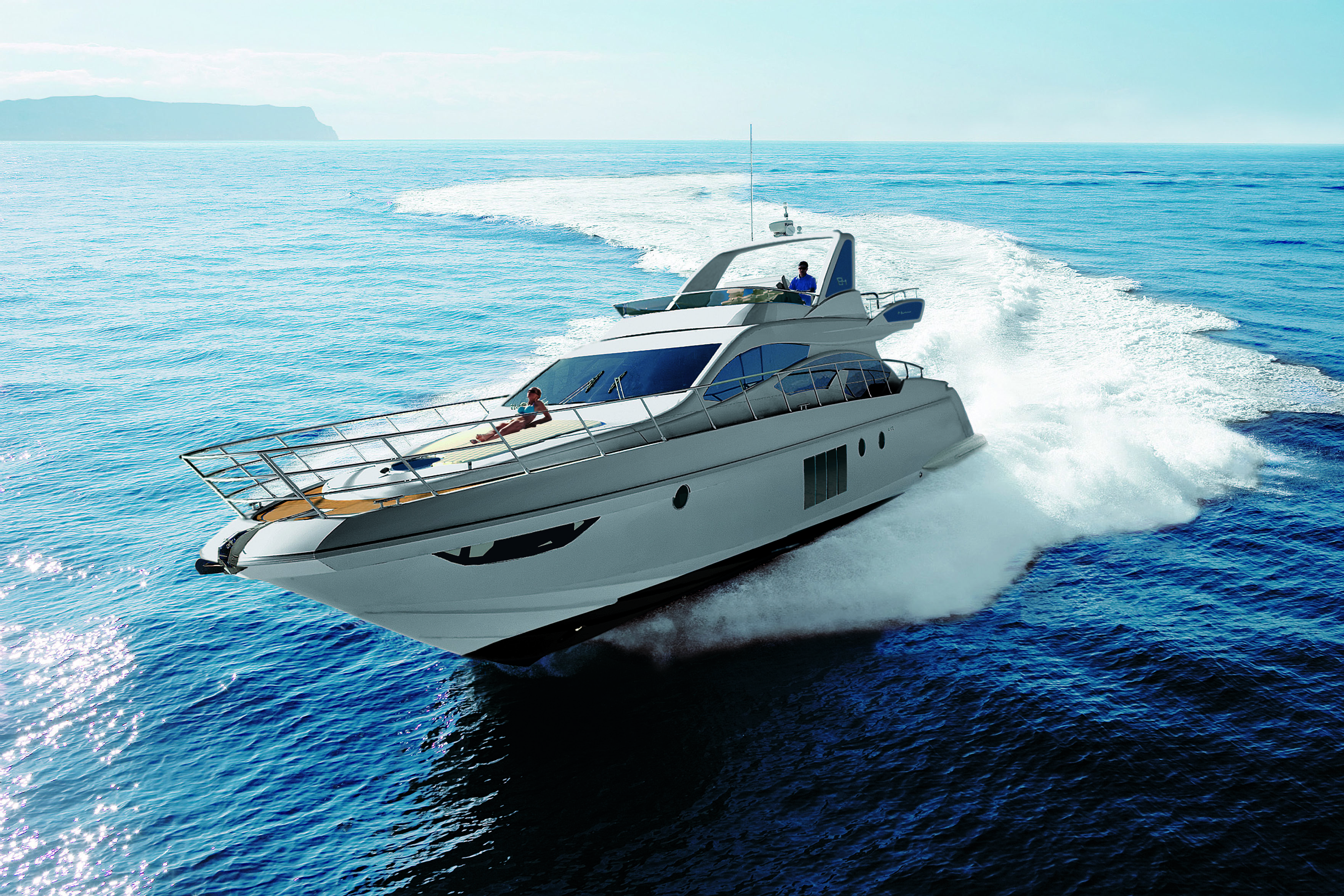 azimut 64 running 4 yacht charter superyacht news. Black Bedroom Furniture Sets. Home Design Ideas