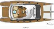 Blue Coast 95' catamaran's  Layout