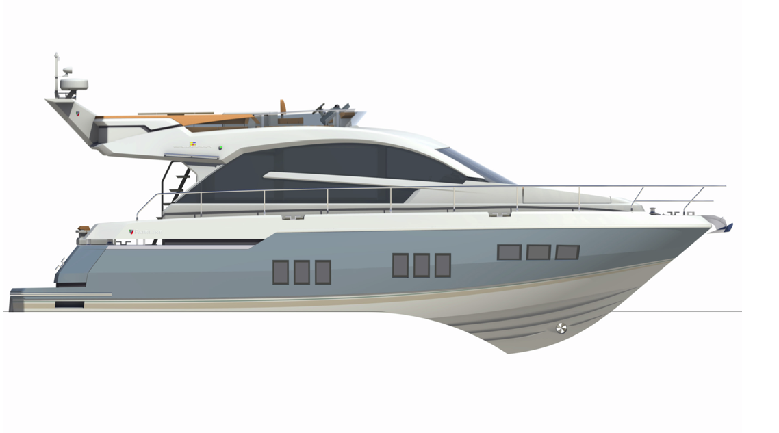 Fairline Boats Squardon 50 Series. With its cleverly designed interior ...