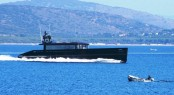 Superyacht H2OME Underway at speed