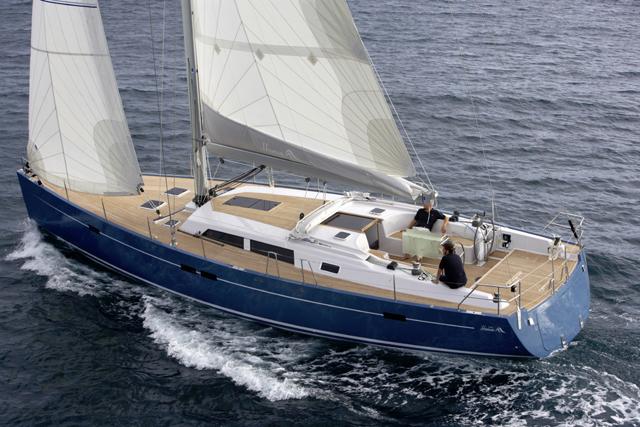 Hanse 540 Yacht - a little larger than the Hanse 445 Yacht