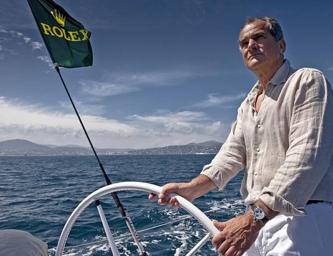 Leonardo Ferragamo on board Sailing Yacht SOLLEONE - SOLLEONE, Sail Number: ITA - 90706, Skipper: L. Ferragamo / Freccia Blu, Design: Swan 90, LOA (m): 27.71