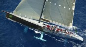 Newport Bermuda Race - Yacht Genuine Risk - one of the supermaxi yachts chasing chasing the record