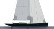 Sailing Yacht TUlip to be constructed by K&M Yachtbuilders